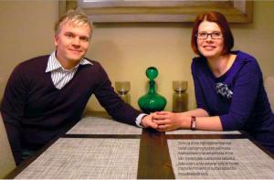 Anne ja Simo Hämäläinen lapsettomuus simpukka 1:2012